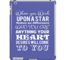When you wish upon a star iPad Case/Skin