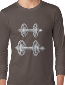 Campagnolo Record Pista Track Hubs Long Sleeve T-Shirt
