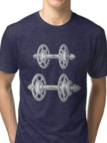 Campagnolo Record Pista Track Hubs Tri-blend T-Shirt