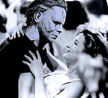 Michael Myers in Dirty Dancing by luigitarini