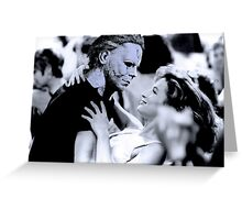 Michael Myers in Dirty Dancing Greeting Card