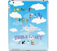 The BRILLIANT Skies iPad Case/Skin