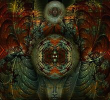 Enter The Enlightened Mind by Craig Hitchens - Spiritual Digital Art