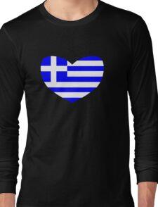 Love Greece Long Sleeve T-Shirt