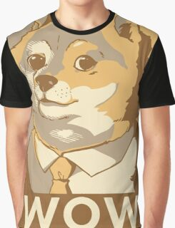Doge WOW Graphic T-Shirt
