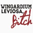 Wingardium Leviosa, Bitch. by whatthefawkes