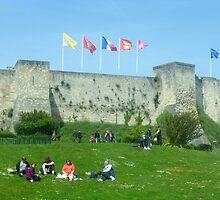 Caen Castle by GregoryE