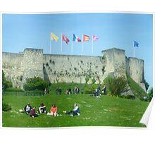 Caen Castle Poster