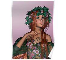 Spring Girl Poster