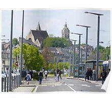 Caen Church Poster
