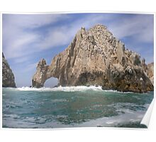 The Ocean Arch Rock  Poster