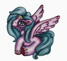 Day of the Dead Pegasus - My Little Pony by HungryDesigns