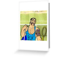 Hipster Shang Greeting Card