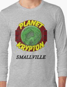 Planet Krypton - Smallville Long Sleeve T-Shirt