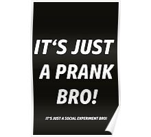 IT'S JUST A PRANK !  Poster