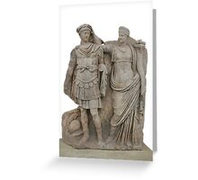 Nero and His Mother, Agrippina Greeting Card
