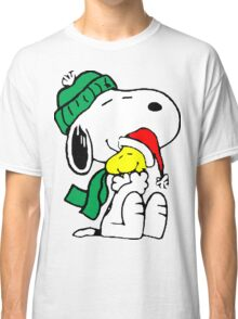 Snoopy and Woodstock Christmas Love Classic T-Shirt