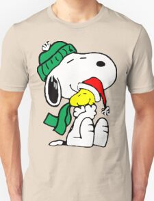 Snoopy and Woodstock Christmas Love T-Shirt