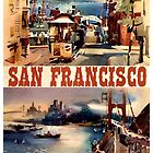 Vintage Travel Poster to San Francisco by chris-csfotobiz