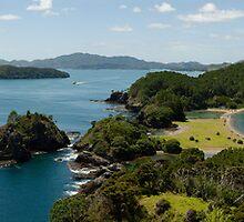 Motuarohia Bay of Islands by Frank Kletschkus