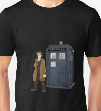 Looker and the Tardis Unisex T-Shirt