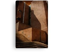 Stairs To Nowhere?? Canvas Print