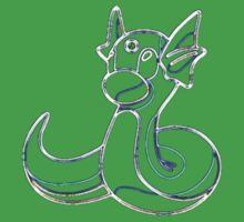 Dratini Outline Kids Clothes