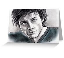 Tom Welling Greeting Card