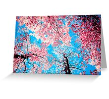 Color Drama III Greeting Card