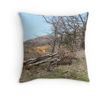 Guarded Mount Throw Pillow