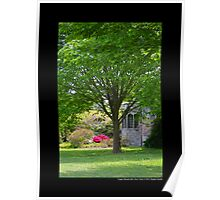 View On Coe Hall Historic House Museum - Upper Brookville, New York Poster