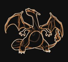 Charizard Outline by Xeno01