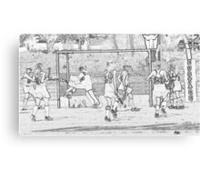 111412 131 0 pencil sketch s Canvas Print