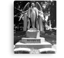 Creepy Angel Metal Print