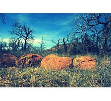 A Boulder View Photographic Print