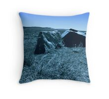 Boulder View Throw Pillow