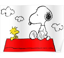 Snoopy & Woodstock Poster