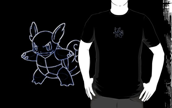 Wartortle Outline by Xeno01