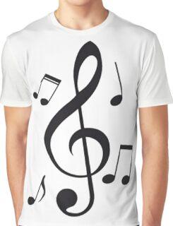 Music Note  Graphic T-Shirt