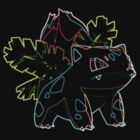 Ivysaur Outline by Xeno01