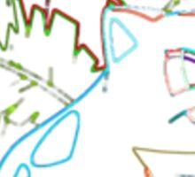 Ivysaur Outline Sticker