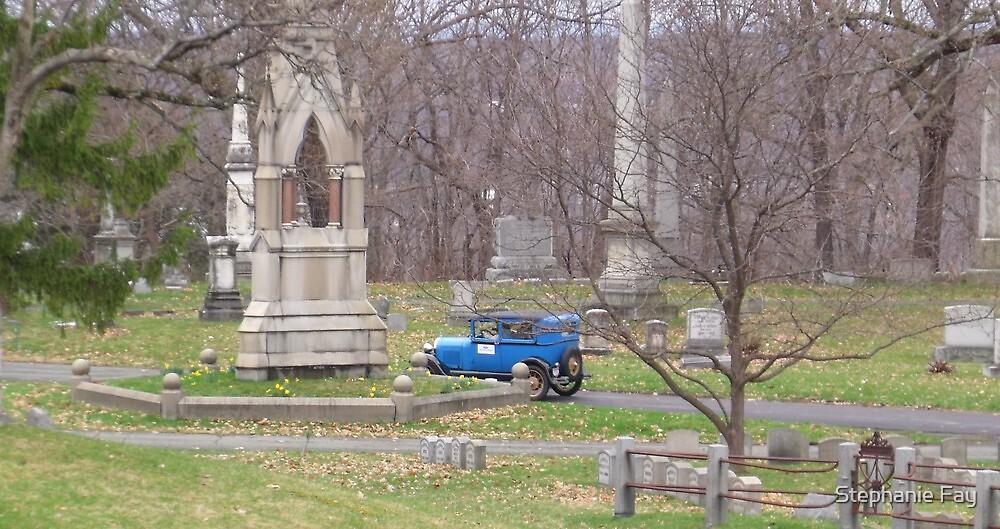 Cemetery Blue by Stephanie Fay