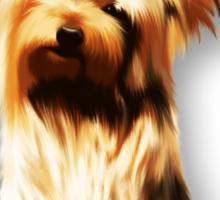 Yorkshire Puppy Tiny Dog Sticker