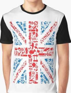 British and Proud Graphic T-Shirt
