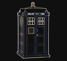 Colorful Lightform Tardis by Xeno01