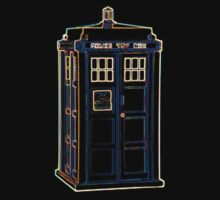 Bright Lightform Tardis One Piece - Short Sleeve
