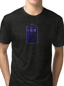 Tardis Blue Tri-blend T-Shirt