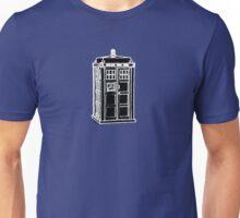 Tardis Cutout Unisex T-Shirt