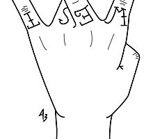 West Side Hand Sign by Alessandro Bozzoni