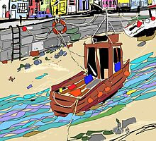 Quay Side 2 by Suzanne Clements